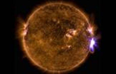 התפרצויות על פני השמש מגדילות סכנת קרינה למטוסי נוסעים