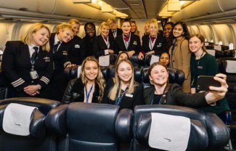 לכבוד יום האשה הבינלאומי: חברת British Airways הפעילה טיסה – כולה בידי נשים