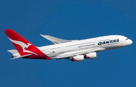"""חברת QANTAS מנסה לקבל אישור מטייסיה ומרת""""א האוסטרלית לביצוע נתיבים ארוכי טווח"""