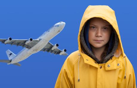 ארגון IATA יוצא למלחמה  נגד גרטה טונברג ותנועת ה- Flight Shaming שהיא מוליכה